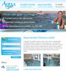 Aqua aerobic Ostrava - Nataša Kőhlerová