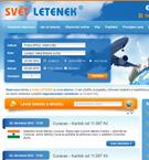 Svět letenek - On-line rezervace letenek