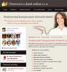 Účetnictví a daně online s.r.o. - Komplexní účetní a daňové služby